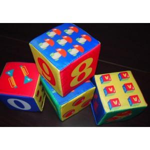 """Набор кубиков """"Счет"""""""