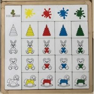 Игрушка деревянная «Классификация Цвета игрушки»