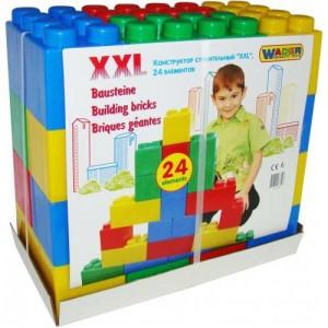 Конструктор строительный XXL, 24 элемента