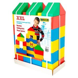 Конструктор строительный XXL 36 элементов